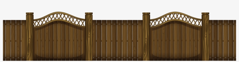 png black and. Gate clipart wooden gate
