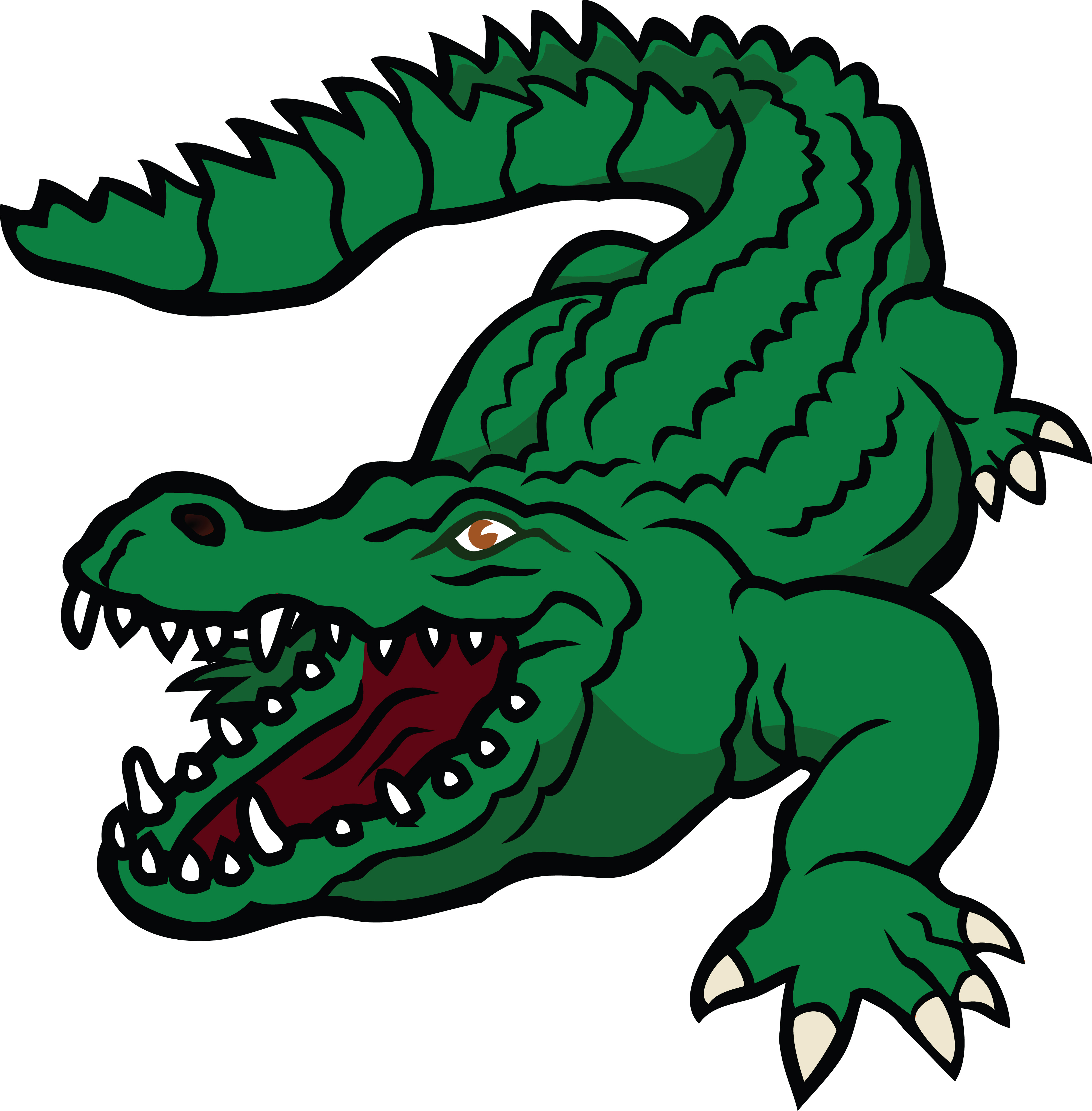 Gator clipart angry. Alligator images free download