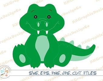 Gator clipart face. Alligator etsy