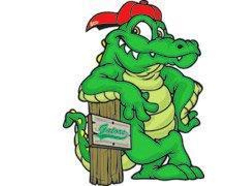 S croc roc dallas. Gator clipart friendly