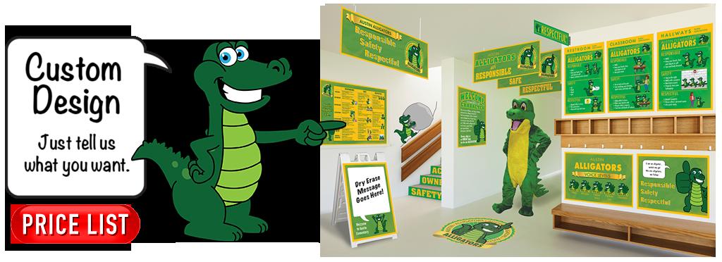 Gator clipart friendly. Mascot junction kid mascots