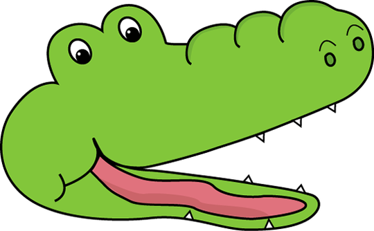 Clip art images gallery. Gator clipart gator head