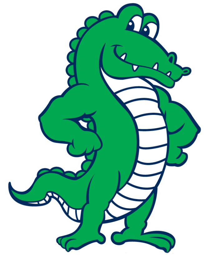Gator clipart great. Home union chapel elementary