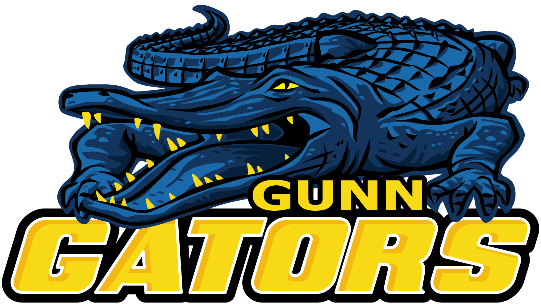 About junior high . Gator clipart gunn