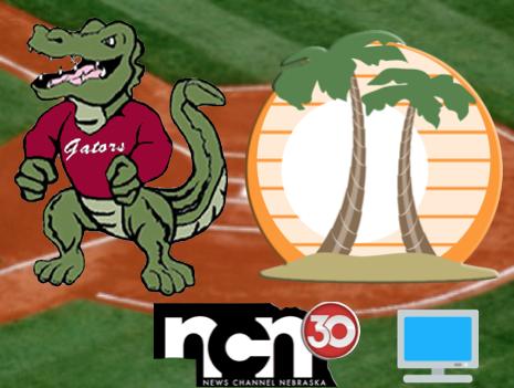 Gator clipart north star. Vs grand island baseball
