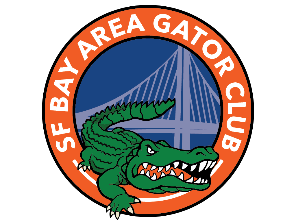Sf bay area club. Gator clipart simple