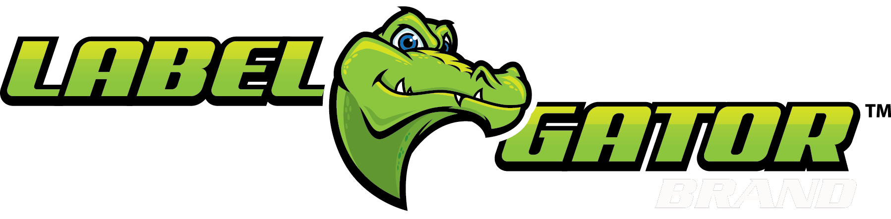 Gator clipart simple. Blog the label brand