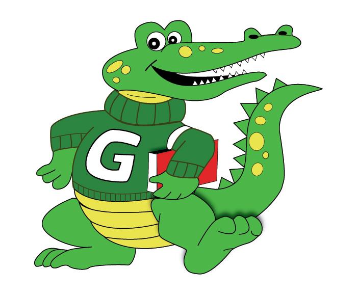 Home greenfield elementary school. Gator clipart teacher