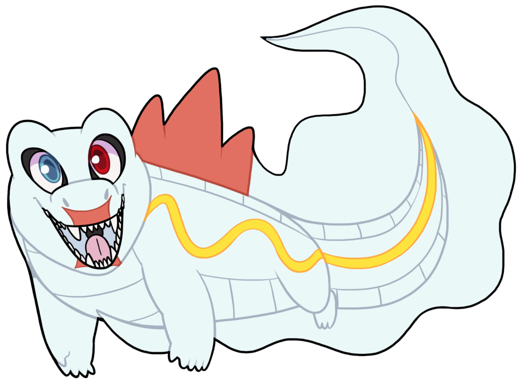 Pkmncrescentcavern biggs by feralgator. Gator clipart tooth