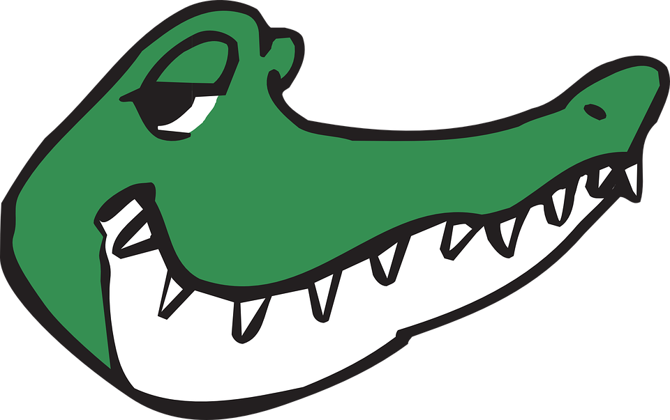 Frames illustrations hd images. Gator clipart tooth