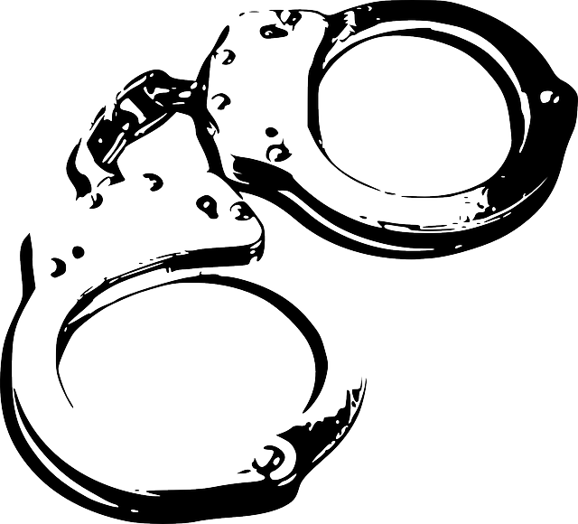 Handcuffs clipart item. Collection of free alleged