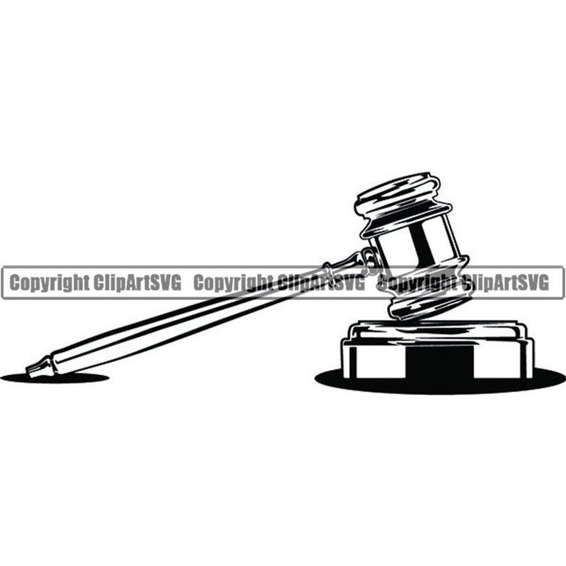 Gavel clipart bar exam. Judge sound block law