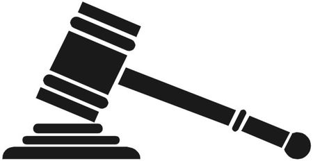 Gavel clipart court appeal. Rules against soundexchange in