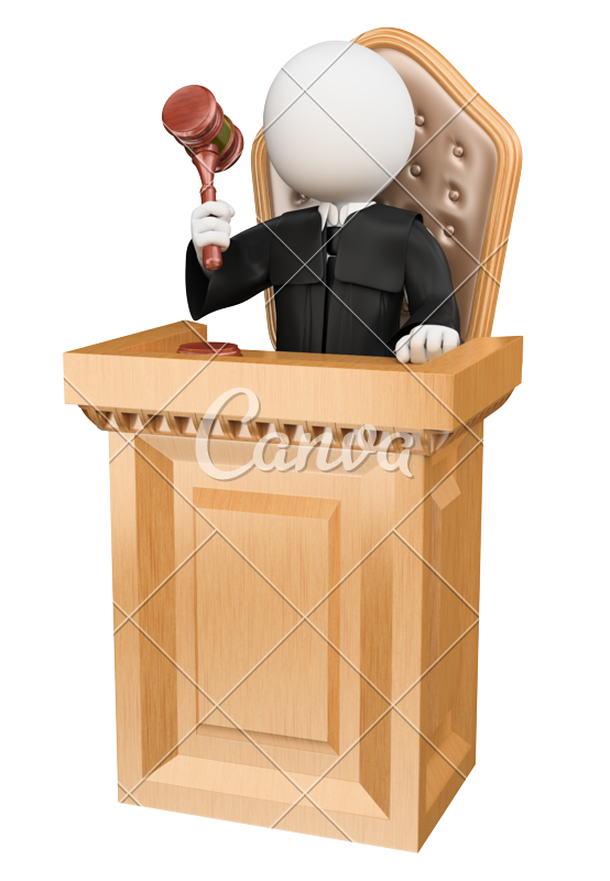 Judge on court photos. Gavel clipart jury box
