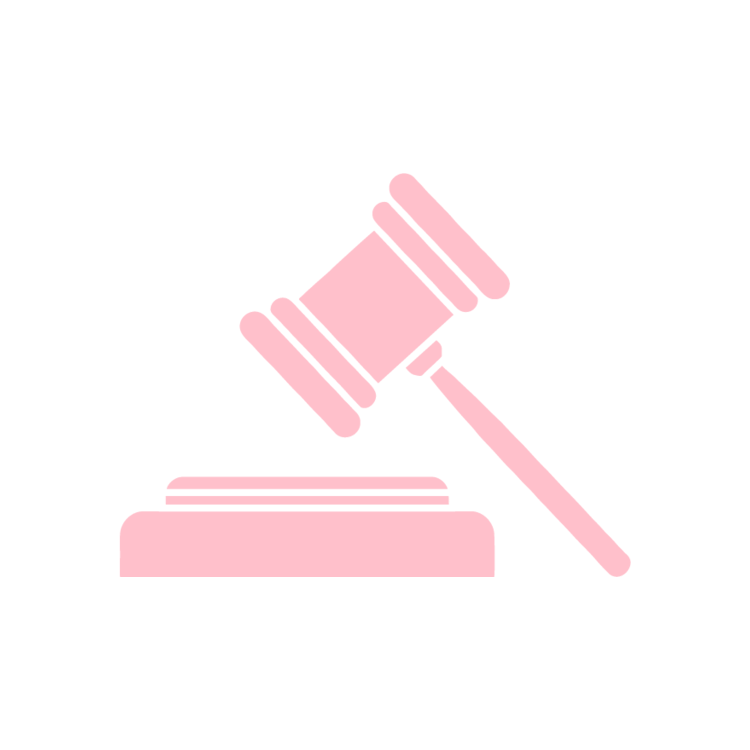 Free icons easy to. Gavel clipart pink