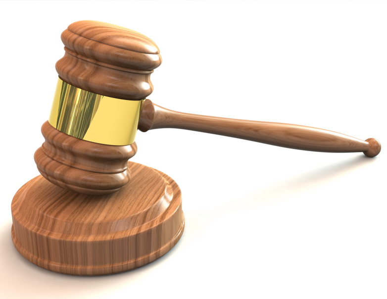 Gavel clipart precedent. Court sets worrying by