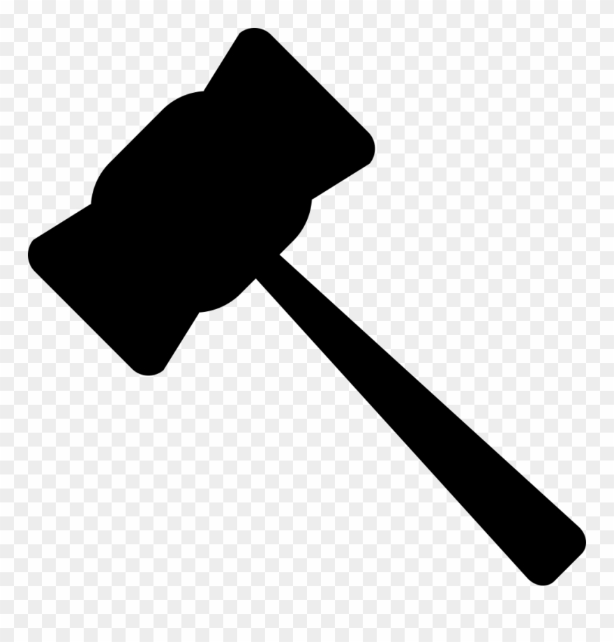 Gavel clipart svg. Hammer rules justice legal