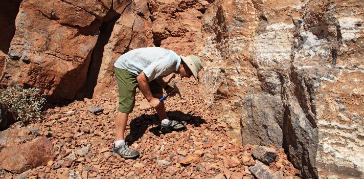 Por qu estudiar geolog. Geólogo