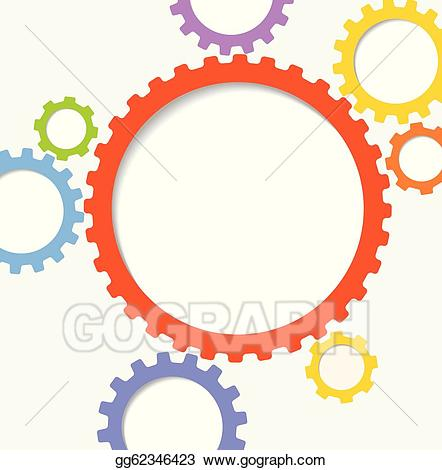 gear clipart abstract