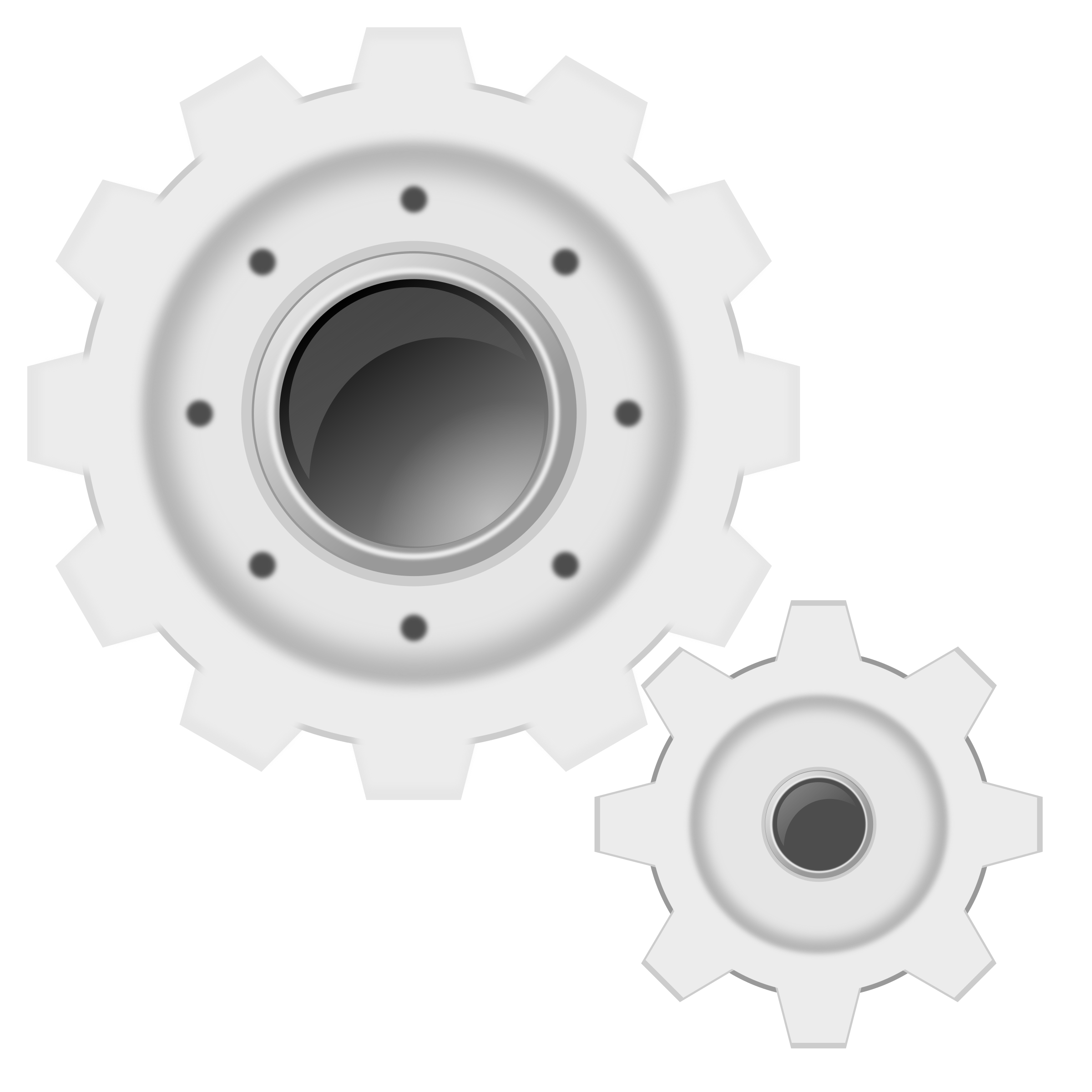Gear clipart automotive tool. White gears big image