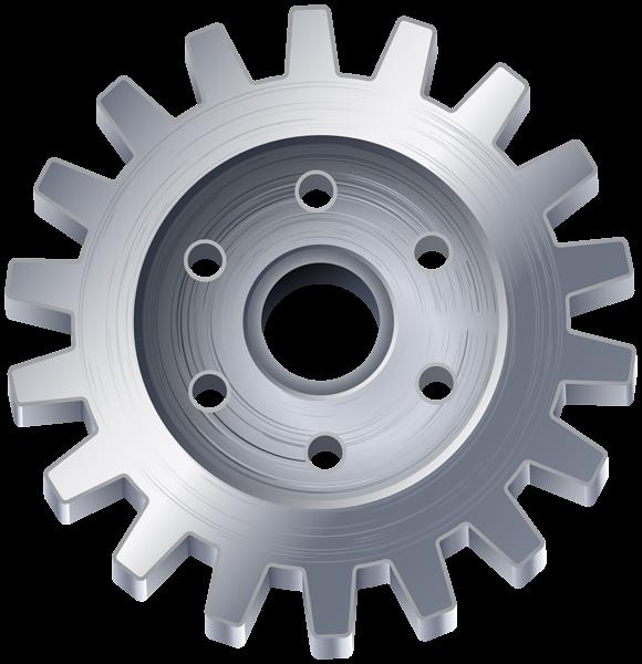 Gear clipart automotive tool. Silver transparent png clip