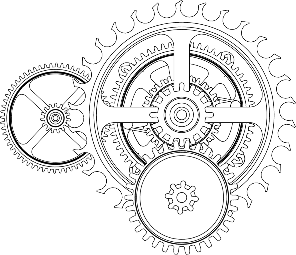 Steampunk clipart chain sprocket. Gears tattoo drop box