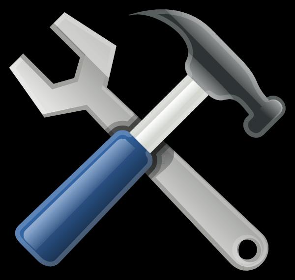 Hammer clipart animated. Cartoon tools