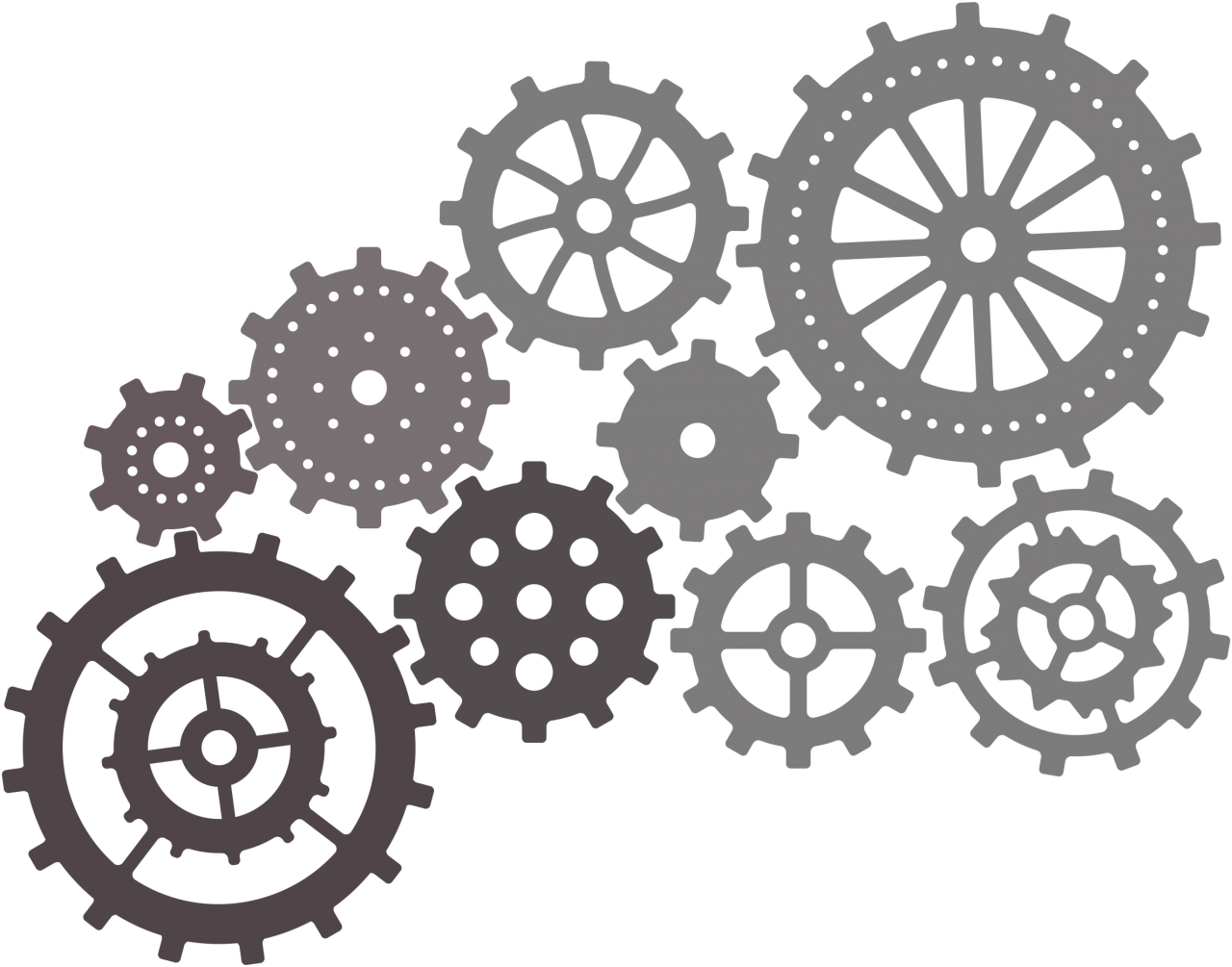 Cheery lynn designs gears. Steampunk clipart chain sprocket
