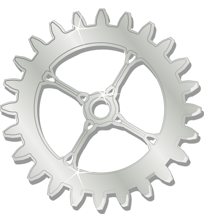 Gear clipart cog. Gears mechanics free collection