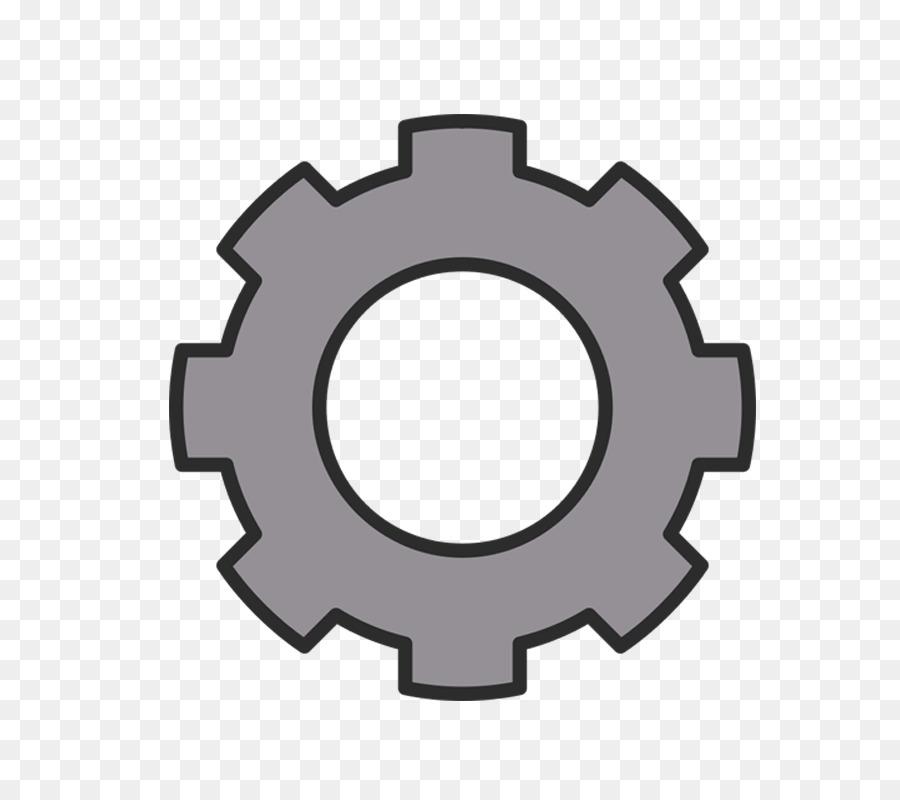 Gear clipart cog. Circle background font transparent