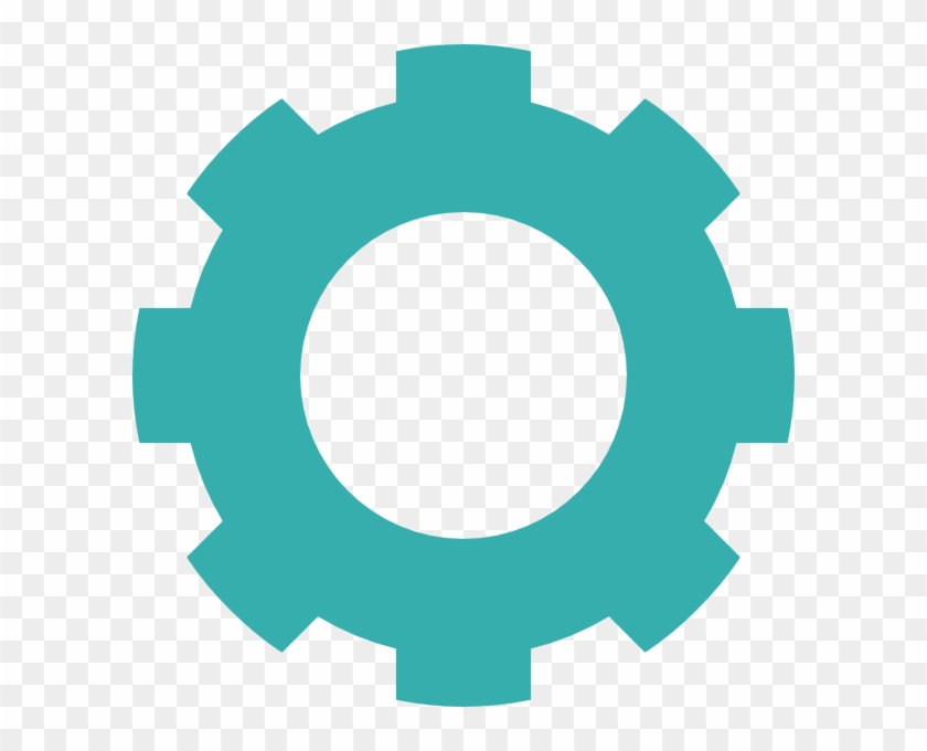 Gears transparent background icon. Gear clipart cog