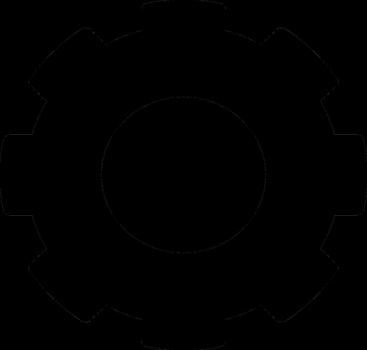 Gear clipart cogwheel. File png wikimedia commons