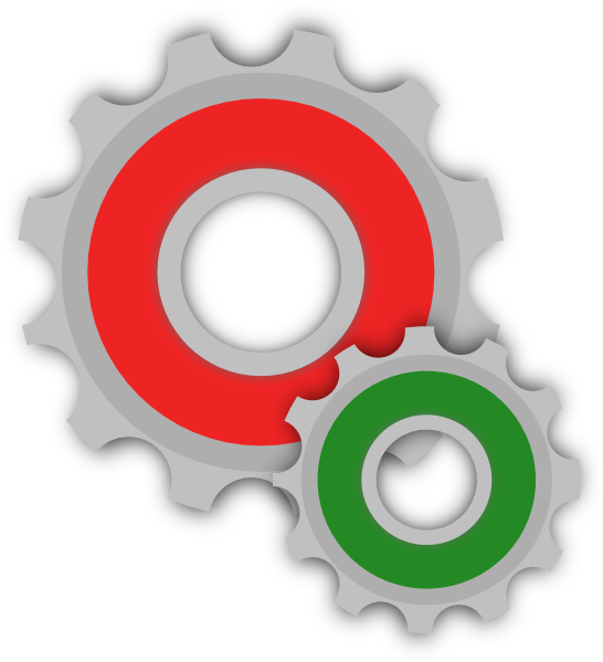 Colored clip art at. Gears clipart gear shape