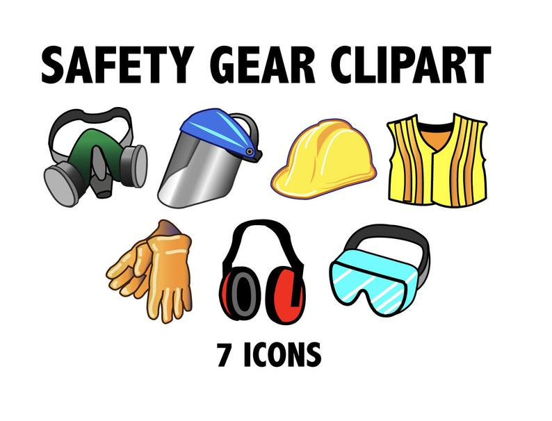 Gear clipart construction gear. Safety zone printable workshop