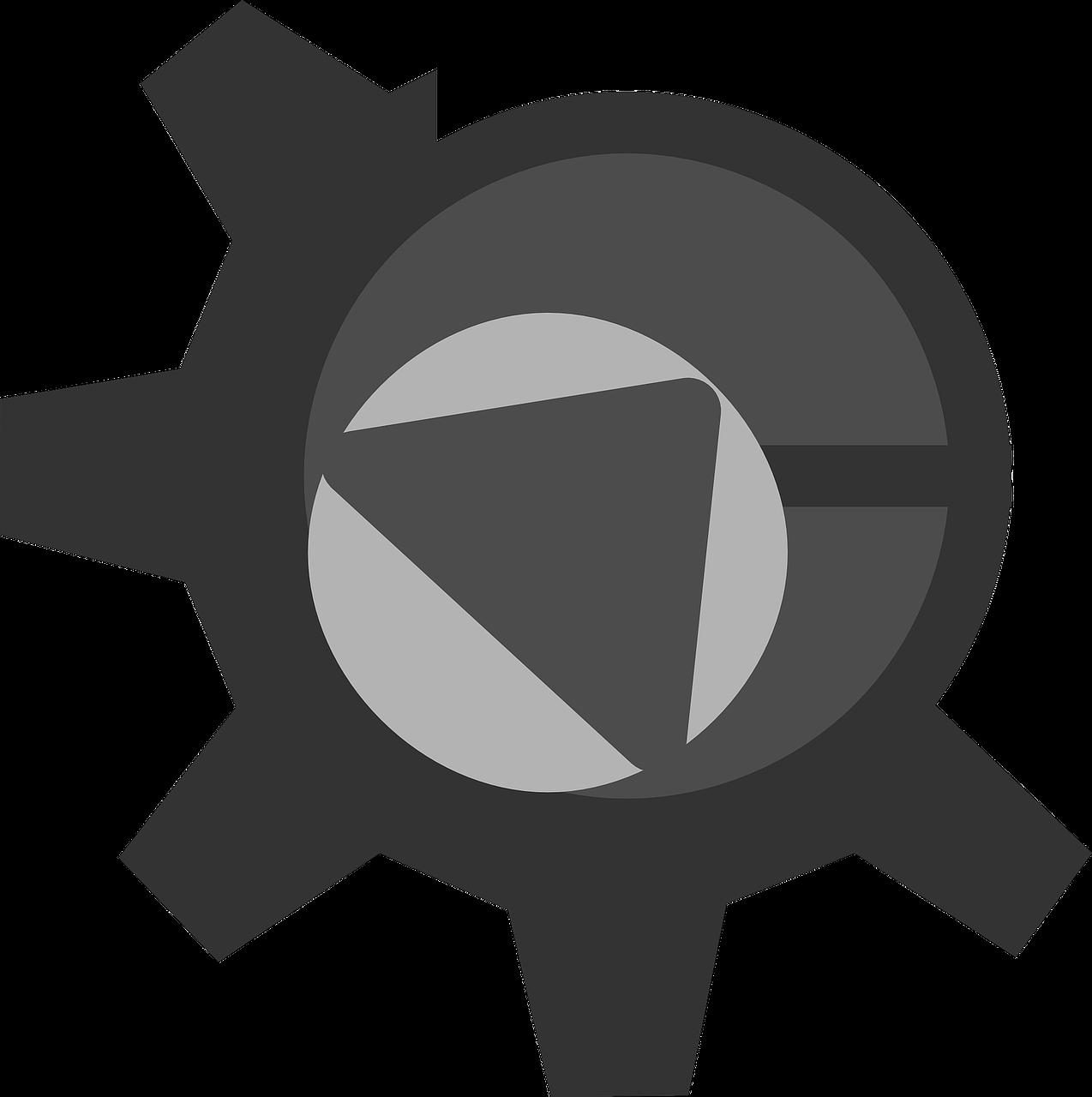 Develop sign png image. Gear clipart development