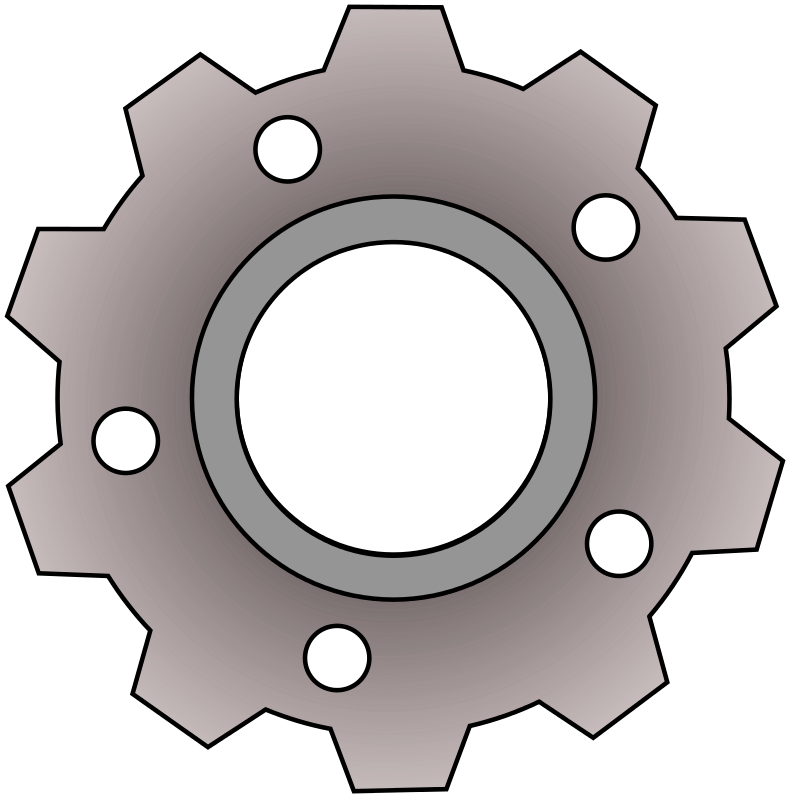 Mechanical gears clipartfest invention. Gear clipart environment