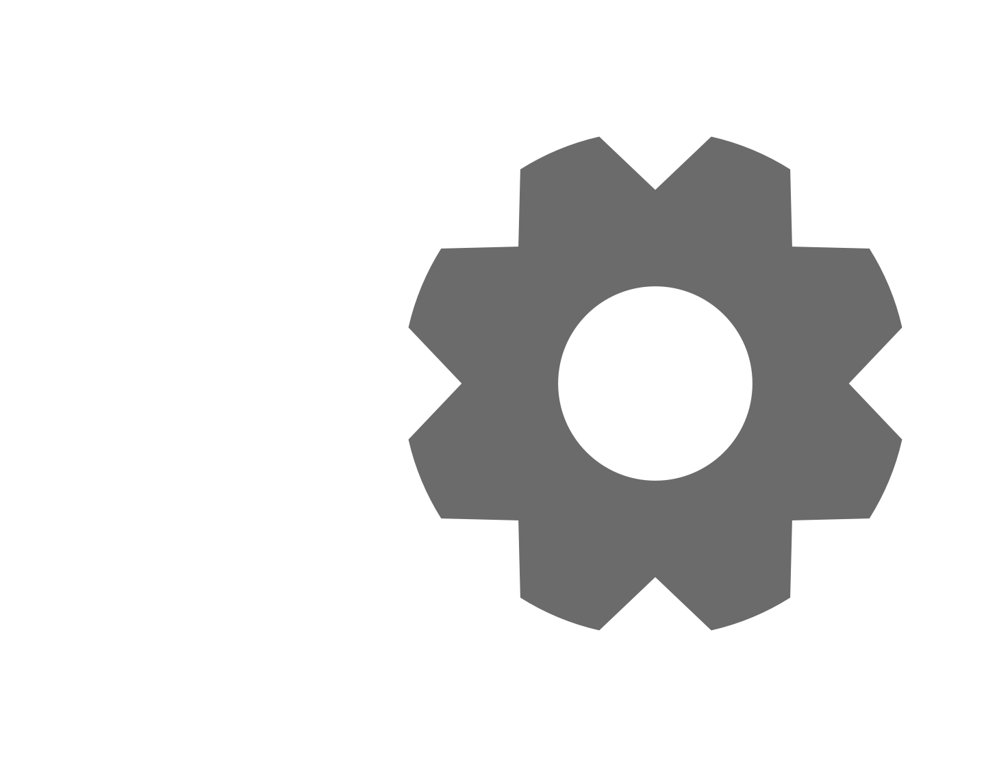 How to make a. Gear clipart gear icon