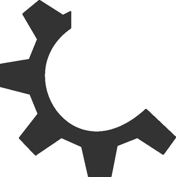 Gear clipart gear icon. Executable file clip art