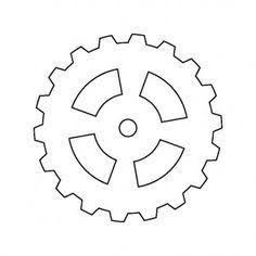 Image result for fun. Gear clipart gear outline