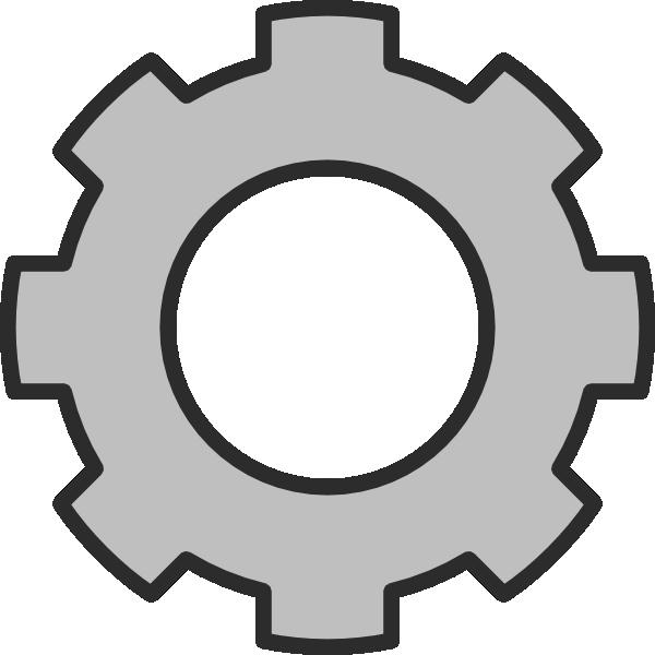 Gear clipart gear shape. Clip art at clker