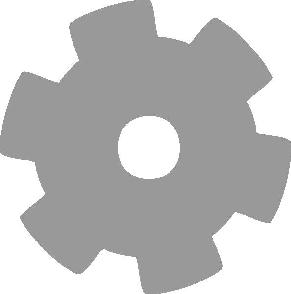 Gear clip art at. Gears clipart grey