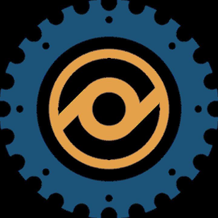 Gear clipart illustrator. Logos