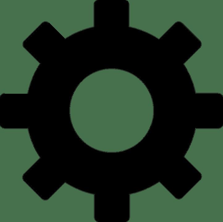 Gear clipart industrial engineering. Internet of things blacksands