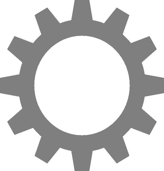 High resolution clip art. Gear clipart machine gear