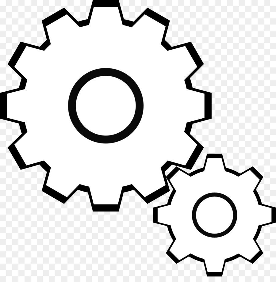 Background wheel technology . Gear clipart machine gear