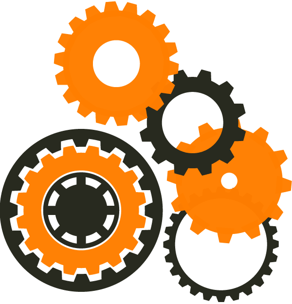 Free colorful gears cliparts. Gear clipart machine gear