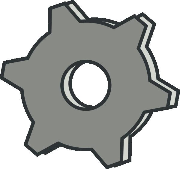 Clip art at clker. Gear clipart machine gear