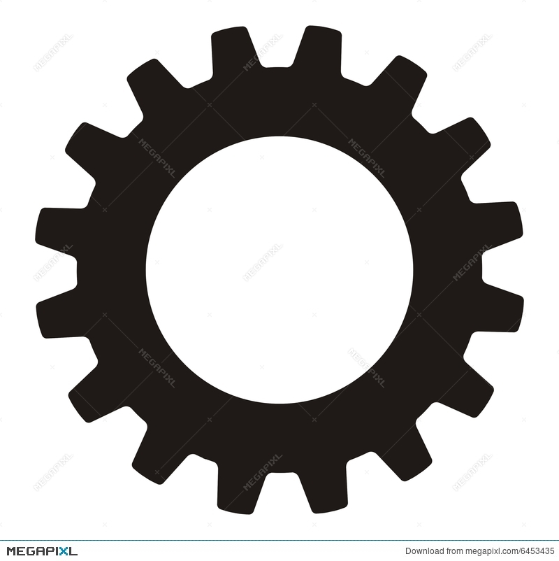 Gear clipart manufacturing. Industrial wheel illustration megapixl