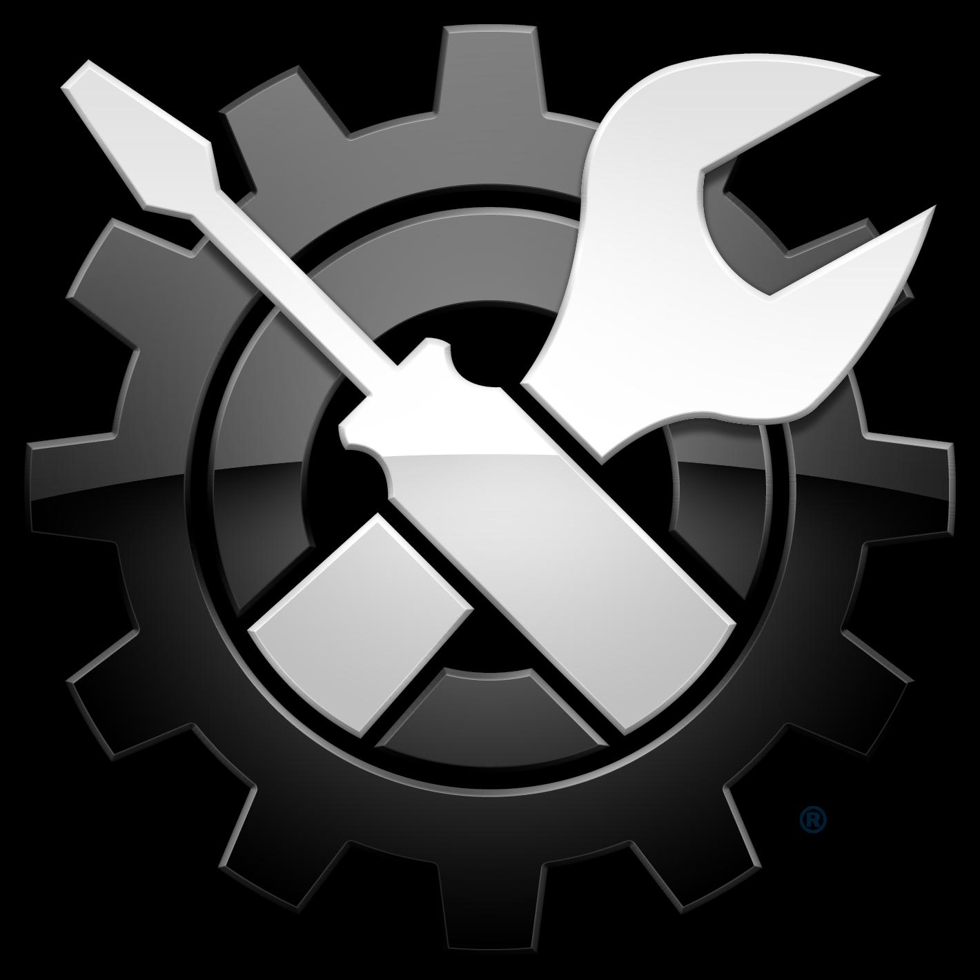 Mechanic clipart logo. Logos software system boosts