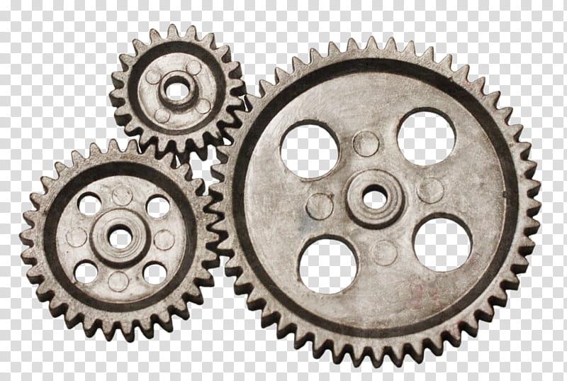 Gears s silver steel. Gear clipart metallic